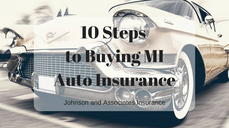 10 Steps to Buying MI Auto Insurance | gold classic car